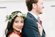 Lina Khong (28 and a science teacher) and Rory Byrne-Dugan (28 and a field service engineer) looked to traditional elements from Vietnamese, French, T
