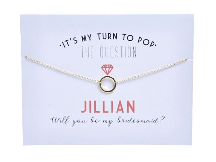 will you be my bridesmaid delivery gifts