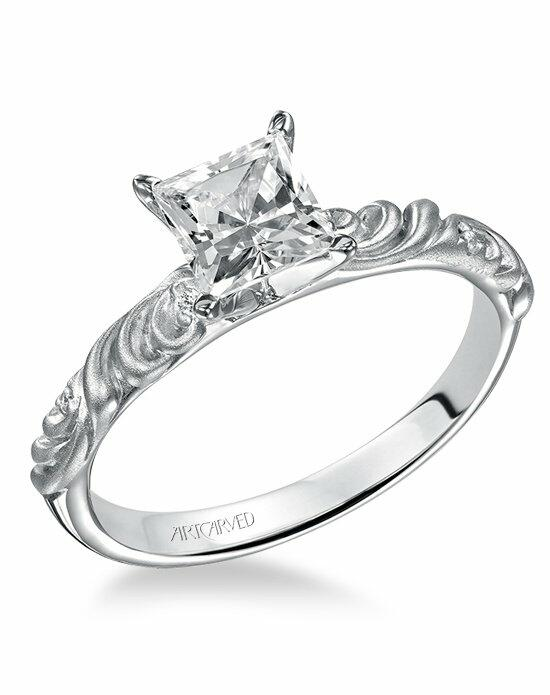 ArtCarved 31-V104ERW Engagement Ring photo