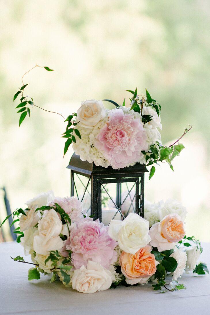 Floral Lantern Centerpieces