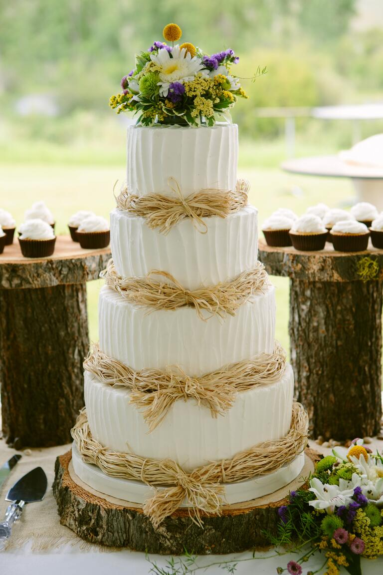 7 Beautiful Buttercream Frosted Wedding Cakes Crazyforus