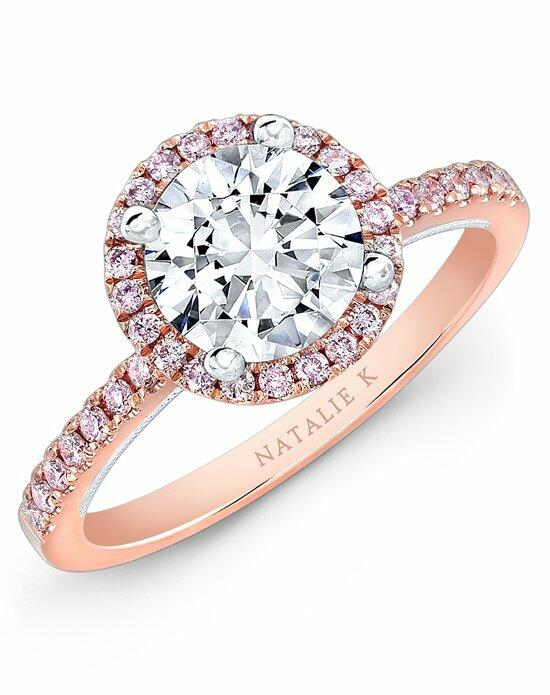 Natalie K Le Rosé Collection - NK28671PK-18WR Engagement Ring photo
