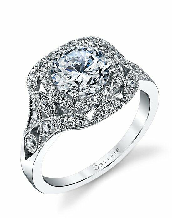 Sylvie Collection S1211 Engagement Ring photo