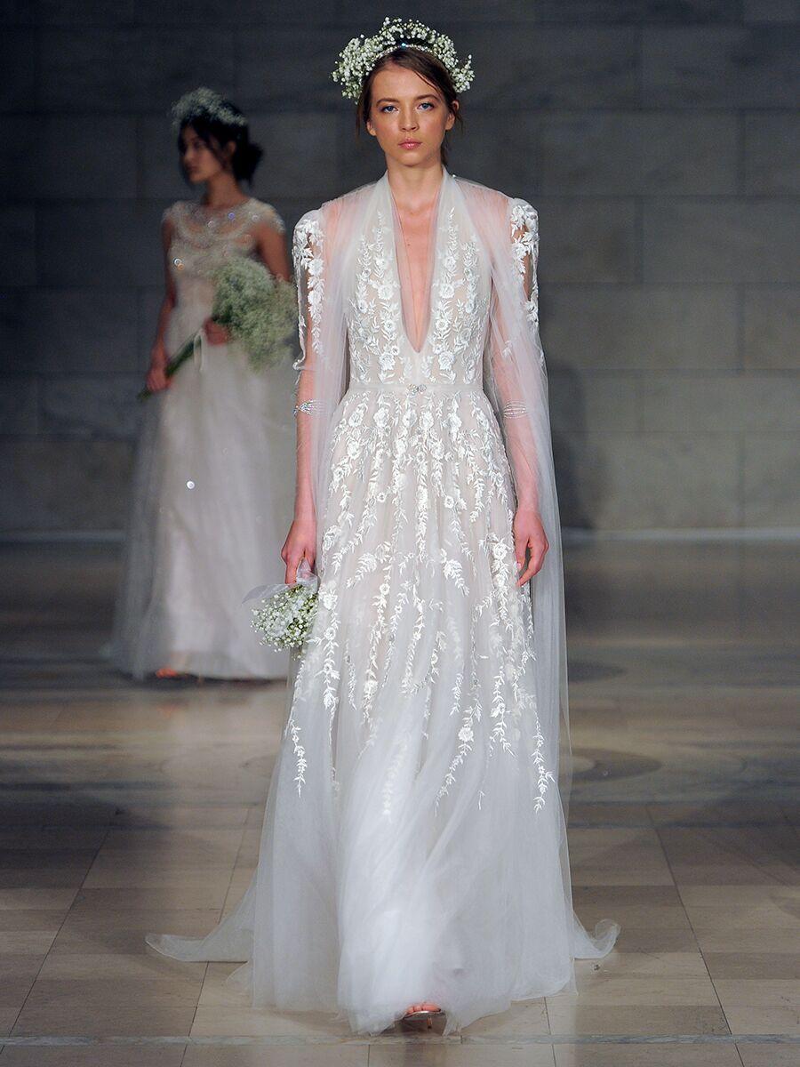 Reem Acra Fall 2018 Collection  Bridal Fashion Week Photos 6787d3b1a