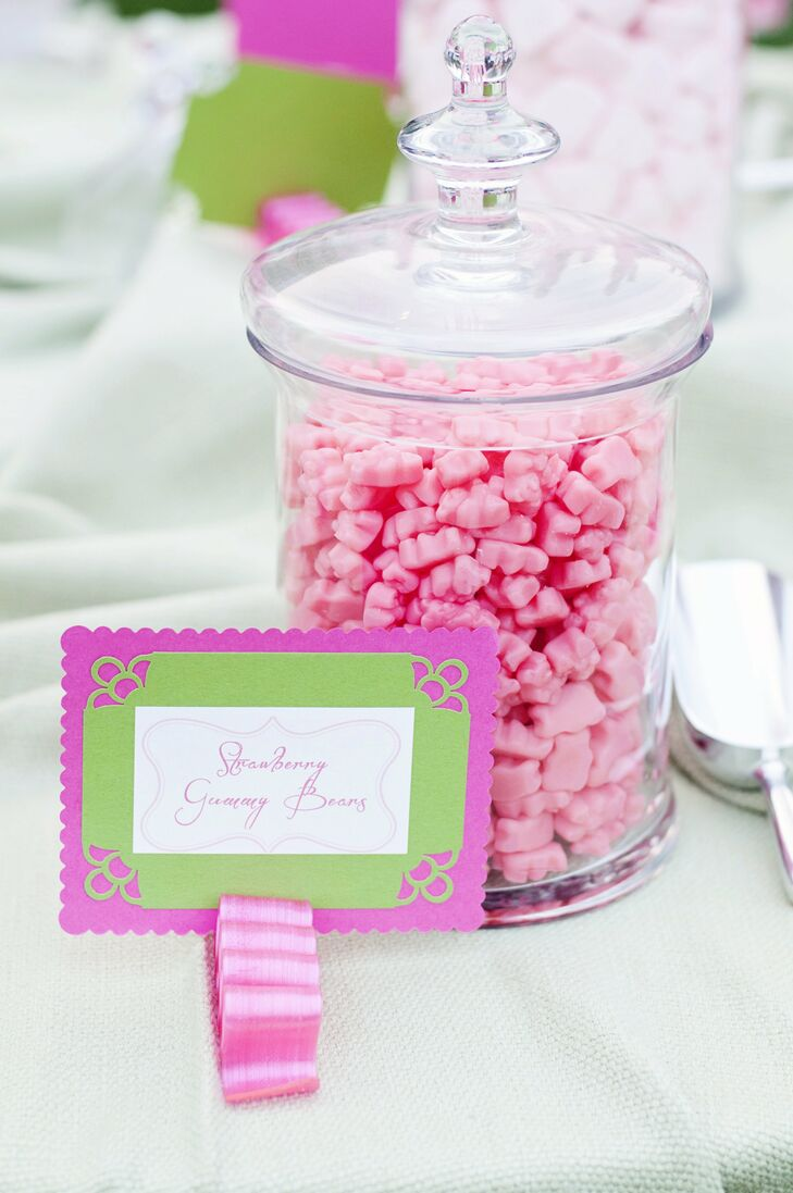 Pink Gummy Bear Bar