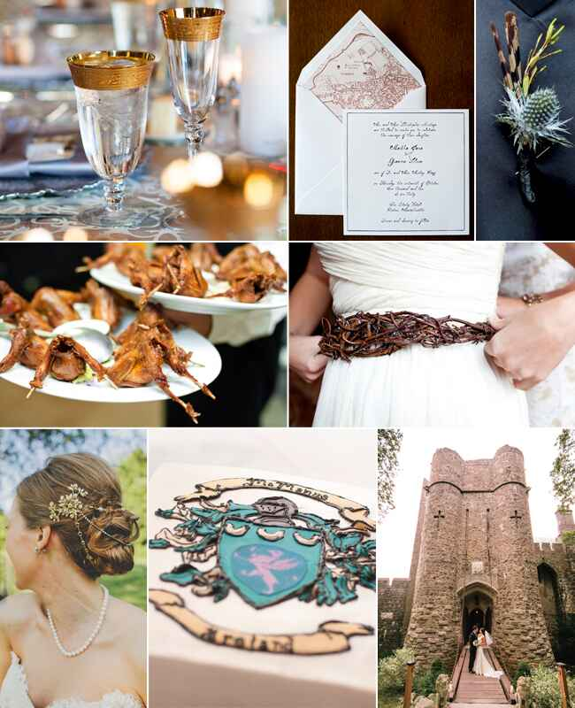 Game of Thrones wedding inspiration / TheKnot.com
