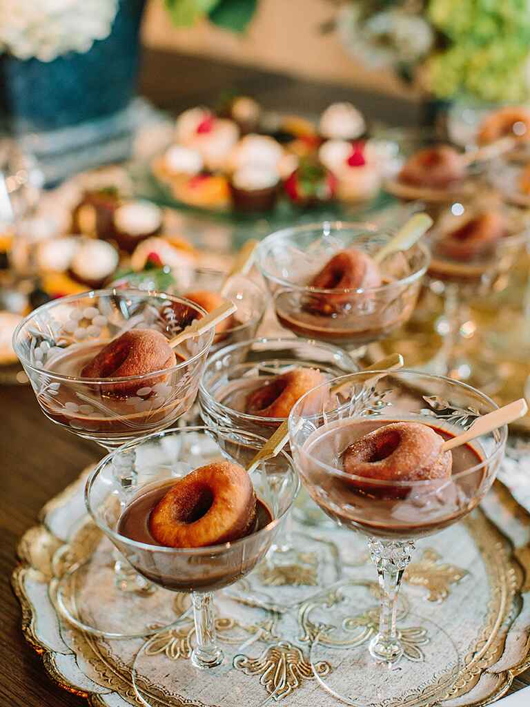 Creative new wedding food ideas for Food bar trends