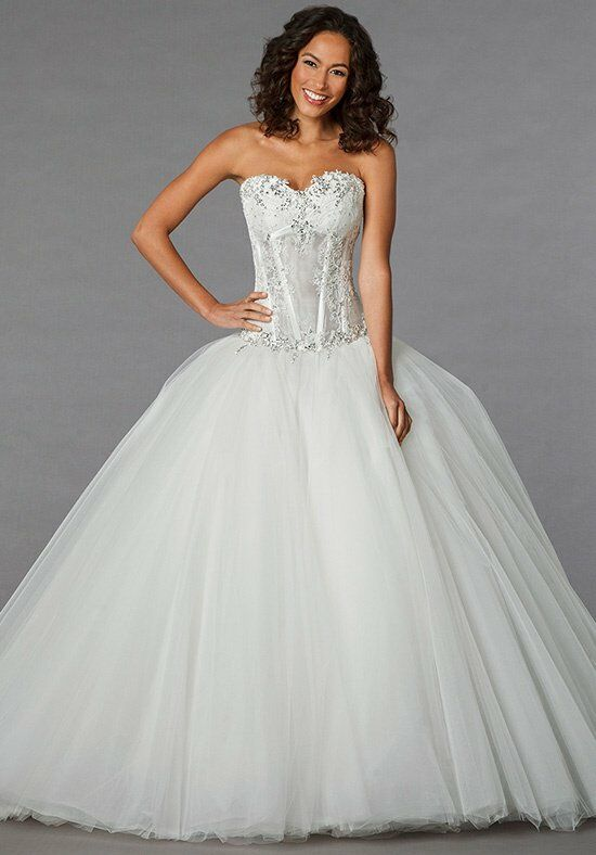 Pnina tornai for kleinfeld 4152 wedding dress the knot for Pnina tornai wedding dresses prices