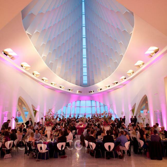 Milwaukee Art Museum Wedding Reception