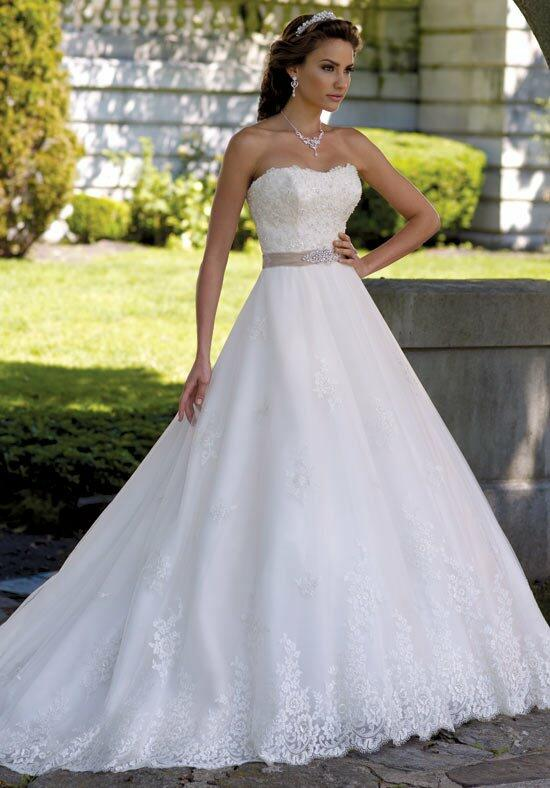 David Tutera for Mon Cheri 113206 Margie Wedding Dress photo