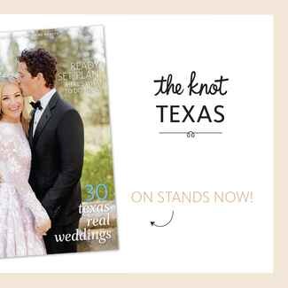 The Knot Texas wedding magazine spring 2016