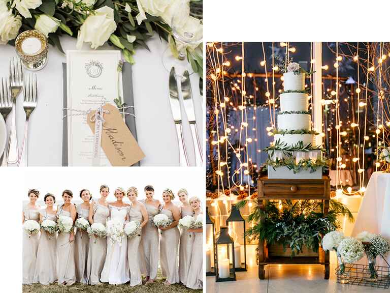 Winter wedding color trends