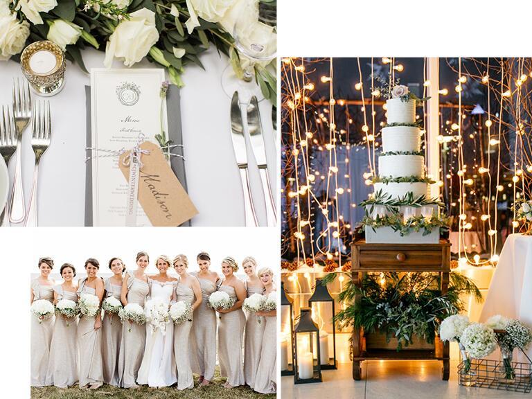 Top Garden Wedding Trends: 8 Hot Winter Wedding Trends For 2015