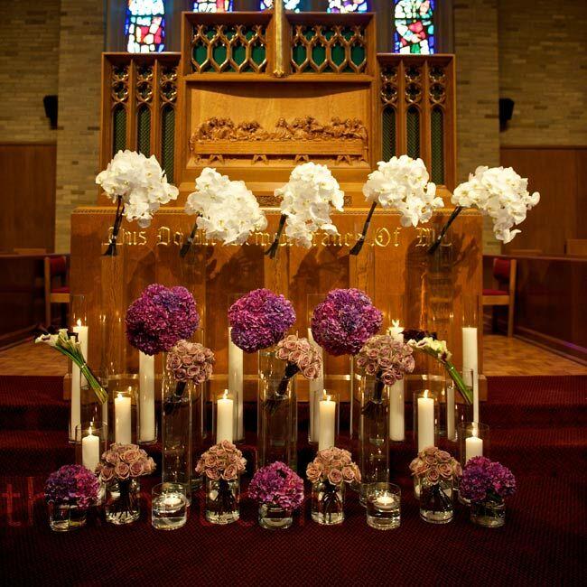 Modern Wedding Altar: A Romantic Modern Wedding In Grand Rapids, MI