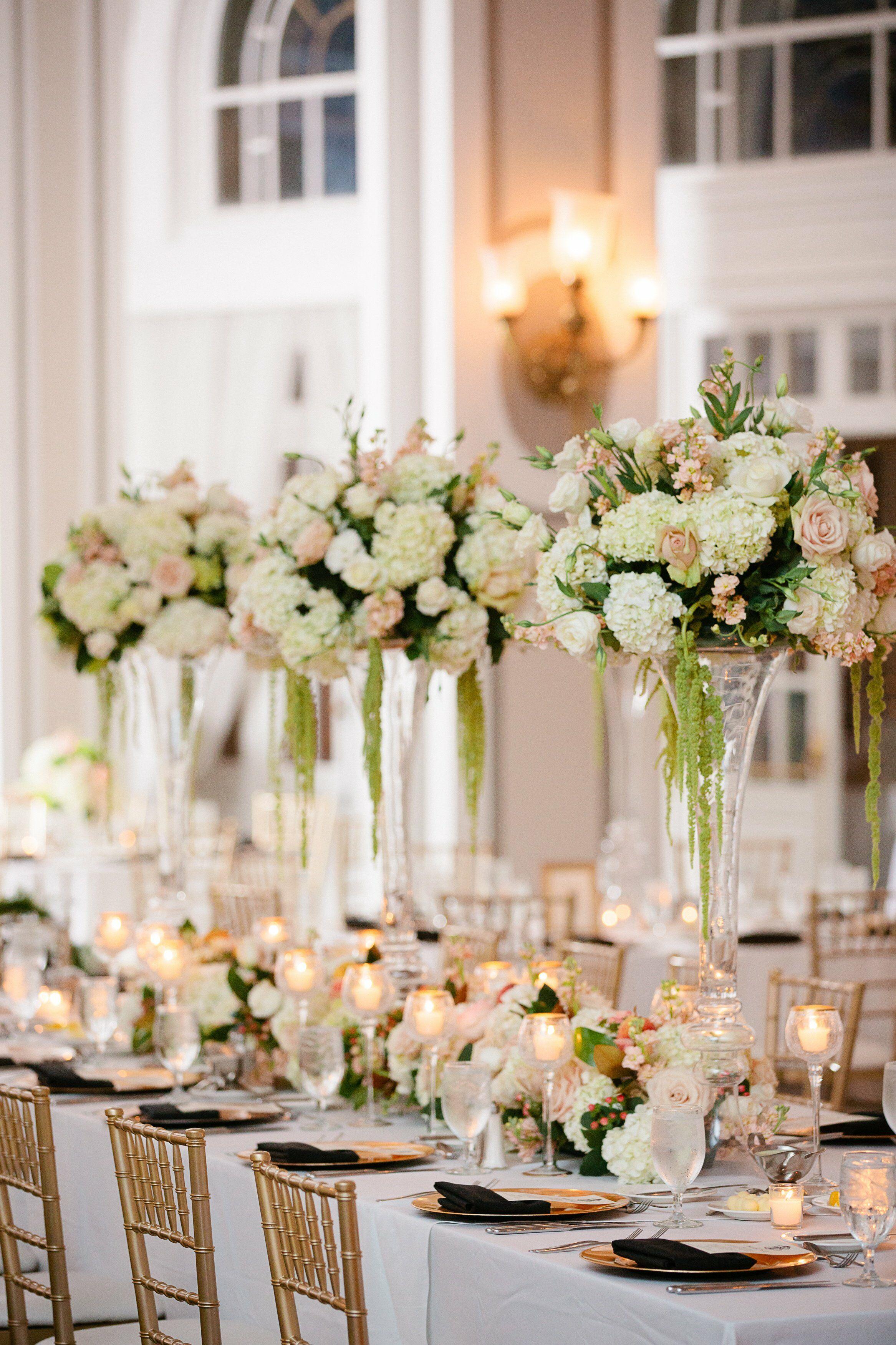 Pampas Grass Vase Wedding