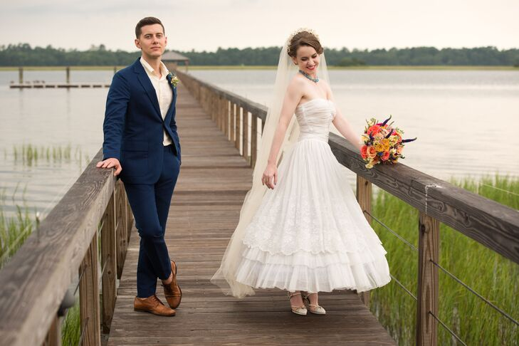 A Whimsical Vintage Wedding At Private Estate In Charleston South Carolina