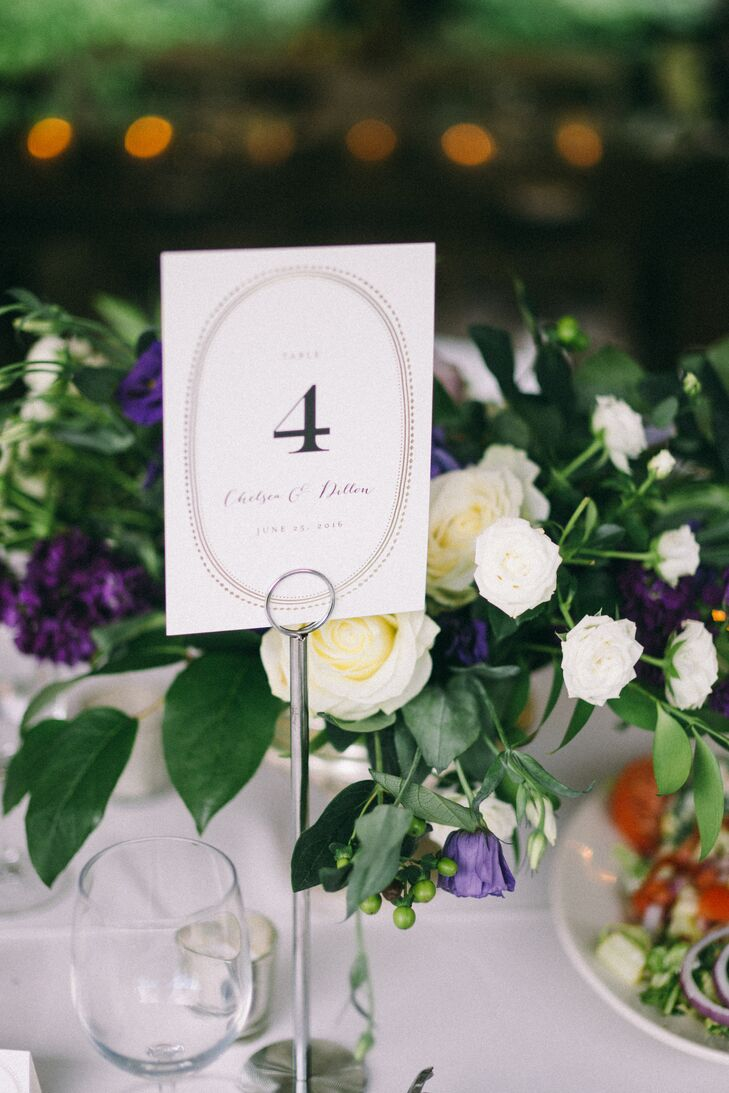 Simple, Classic Table Numbers