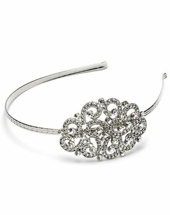 USABride Bliss Swarovski Side Headband TI-3062 Wedding Accessory photo