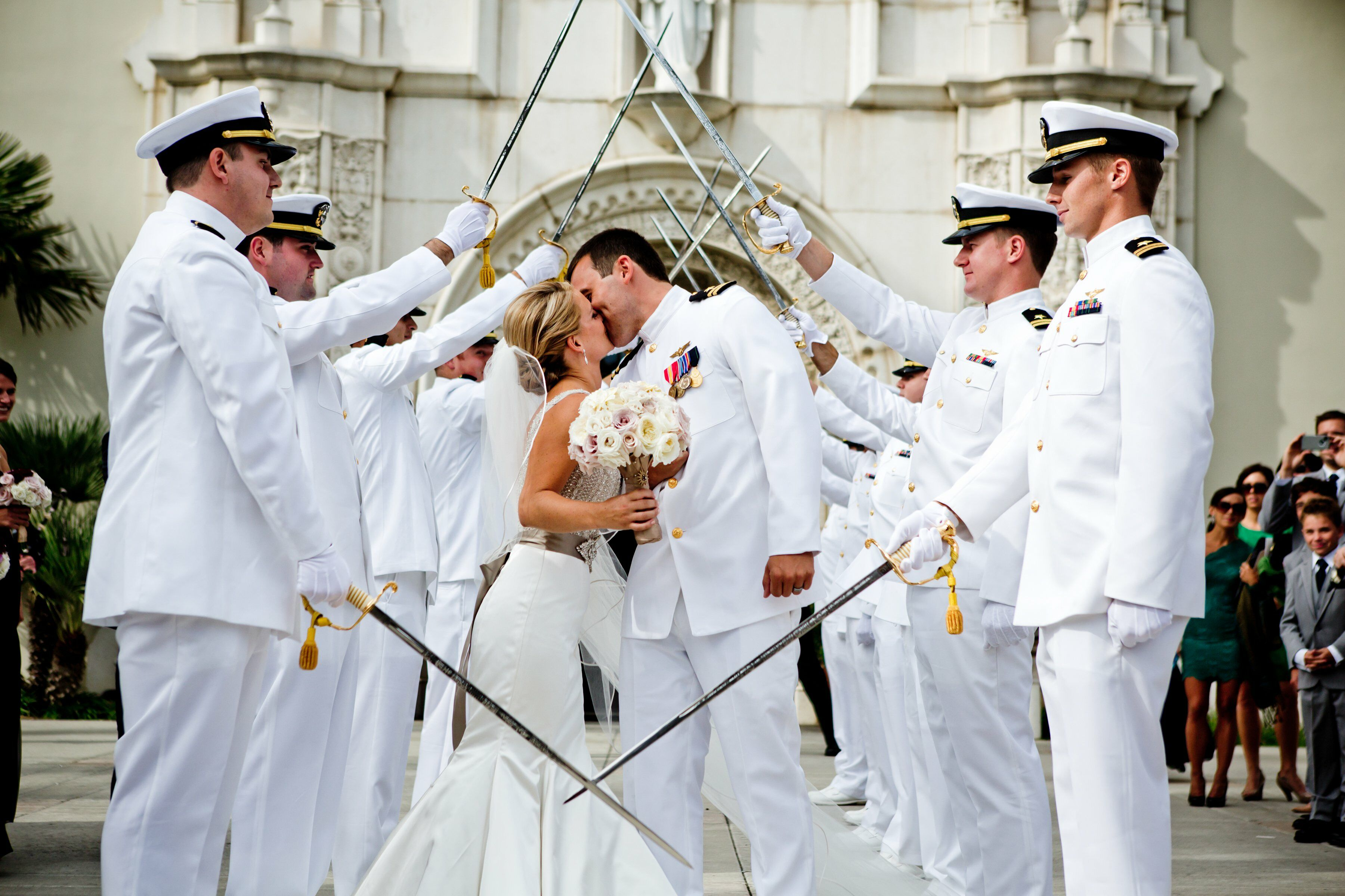 Wedding Gifts For Military Couples: Arch Of Swords Military Ceremony