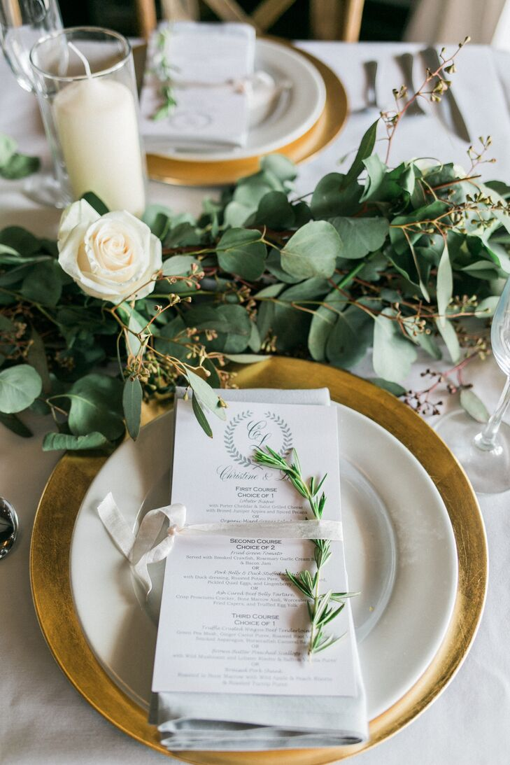 Clean And Contemporary Table Settings