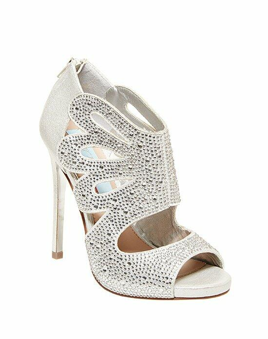 Blue by Betsey Johnson SB-NOLA - SILVER Wedding Shoes photo