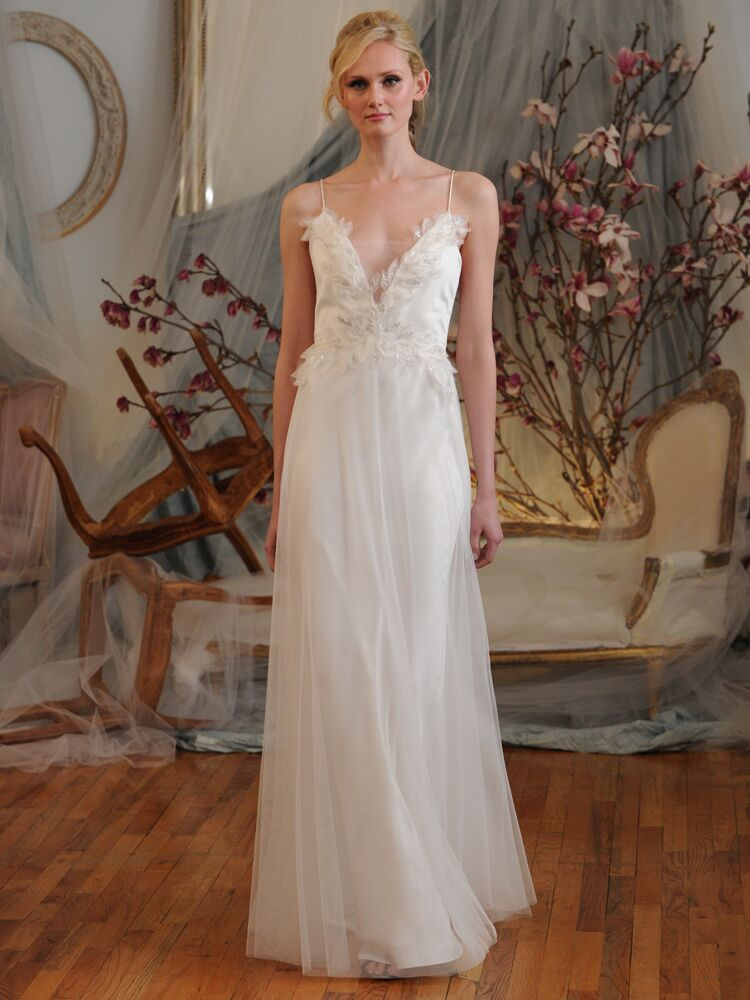 Elizabeth Fillmore Spring Wedding Dresses Bridal Fashion Week Photos