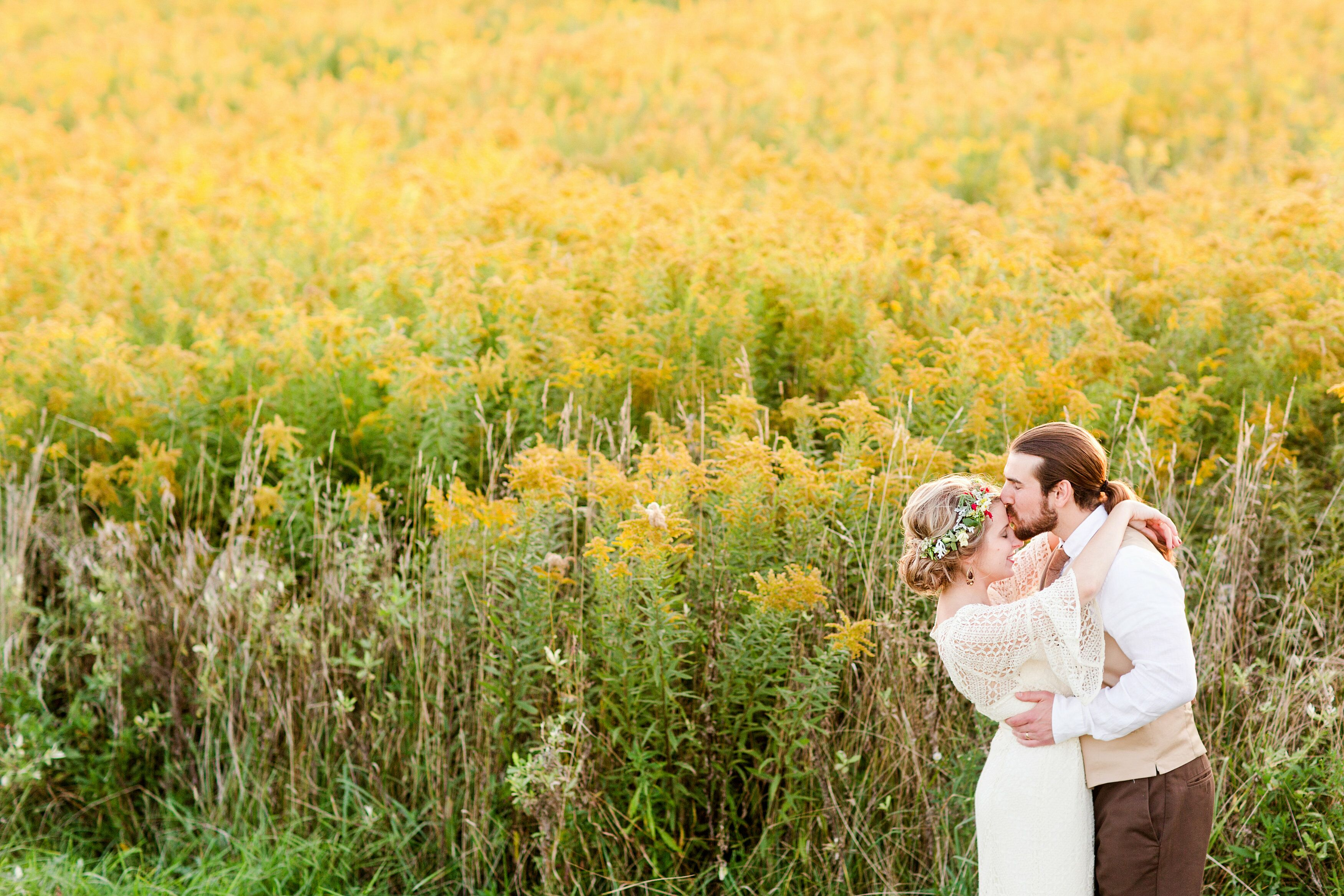 A Rustic, Boho-Chic Wedding at the Barn & Gazebo in Salem, Ohio