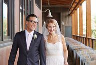 Linda and Justin Lew whisked their family and friends off to the Park City, Utah, for their summer wedding at the celebrated High West Distillery.<br>