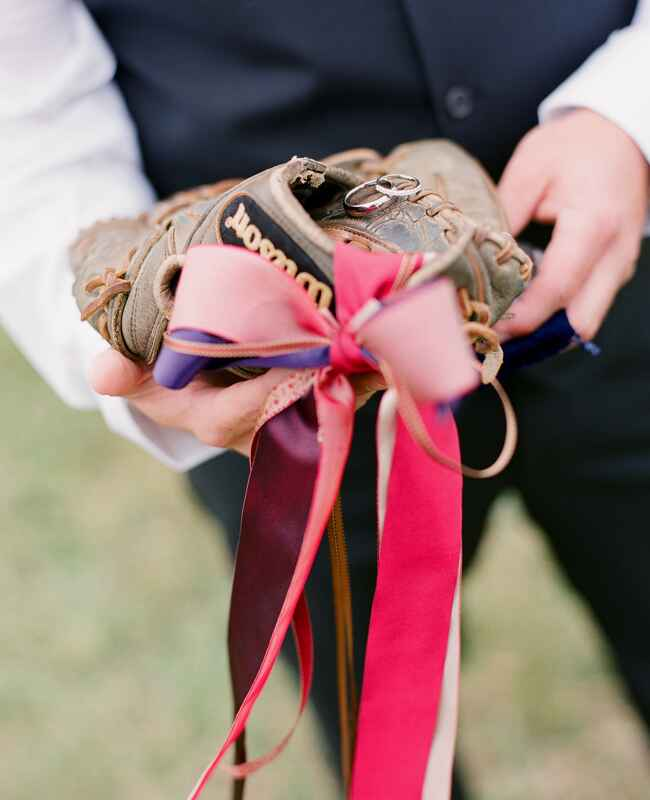 Baseball Mit | Spark Photography | Blog.theknot.com