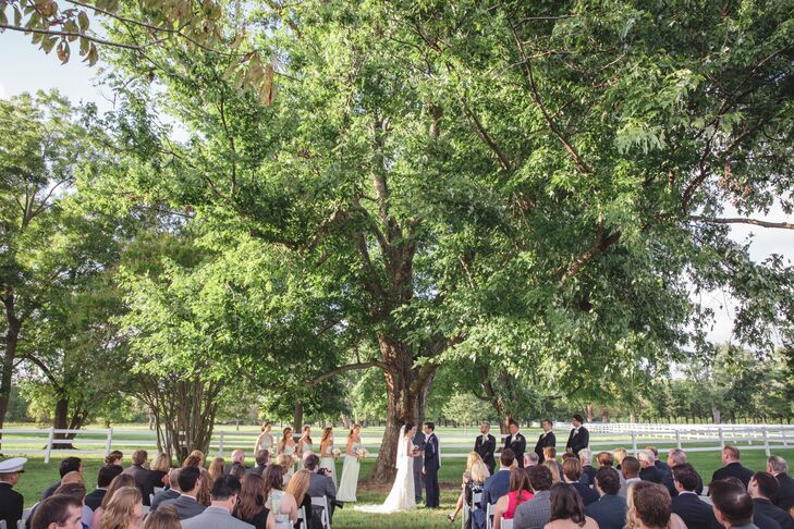 A Classic Ceremony at Inn at Warner Hall in Virginia