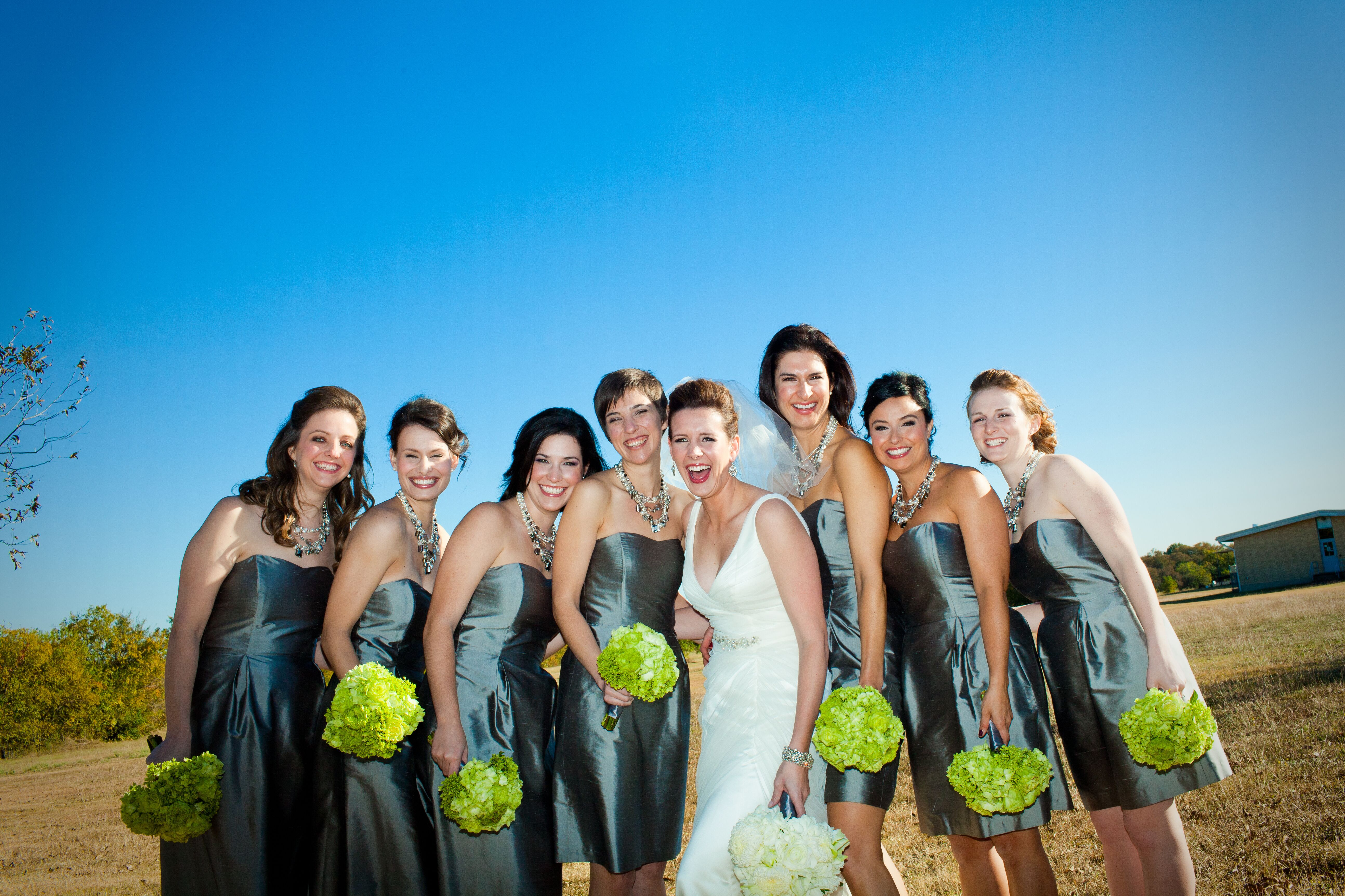 Pewter bridesmaid dresses ombrellifo Gallery