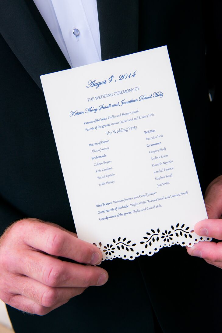 Black and White Wedding Invitation with Floral Accents