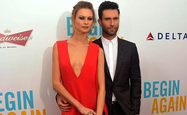 Adam Levine Behati Prinsloo: Getty / TheKnot.com