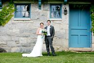 Because Hayley and Steve met as freshmen at Williams College, a wedding in the Berkshires was the natural choice.