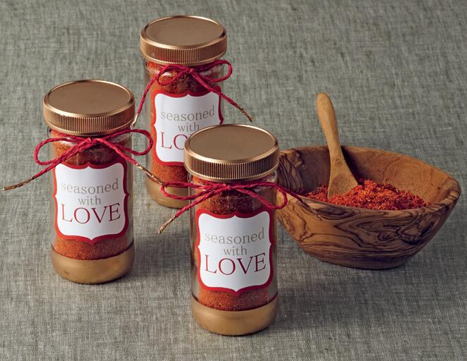 edible bbq rub wedding favor you can diy