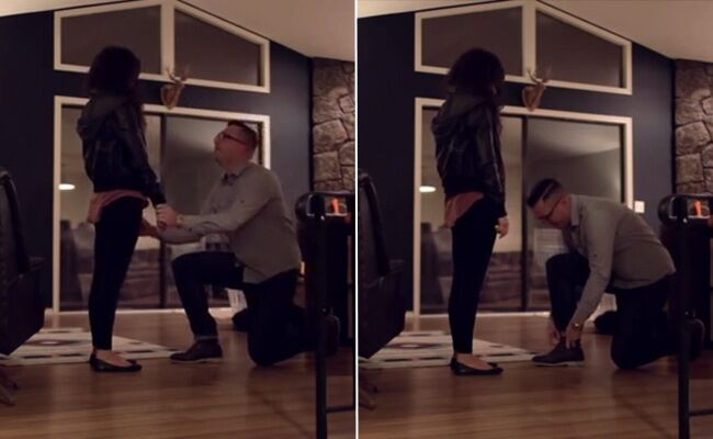 She Found Out He Was Going To Propose So He Did This