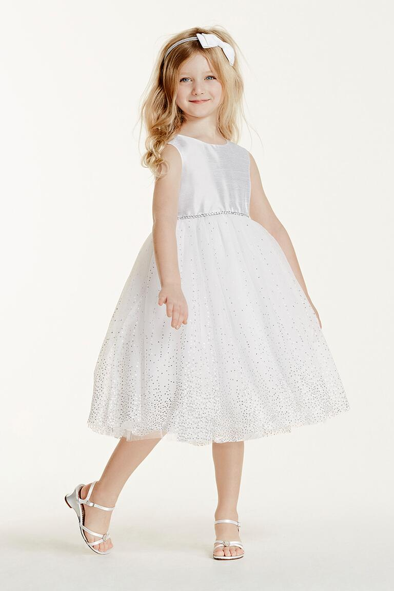 David S Bridal Flower Girl Dresses