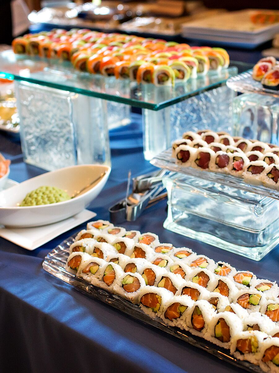 15 wedding buffet ideas for your reception