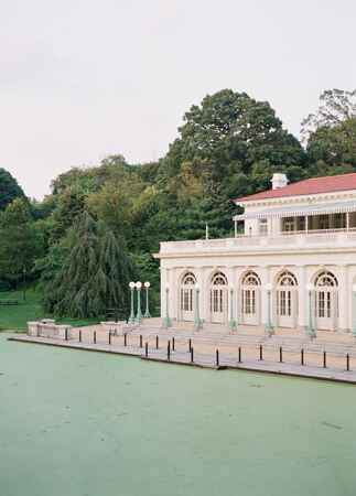 Prospect Park Boathouse wedding venue | Corbin Gurkin | blog.theknot.com