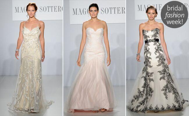 Maggie Sottero Spring 2014 Wedding Dresses
