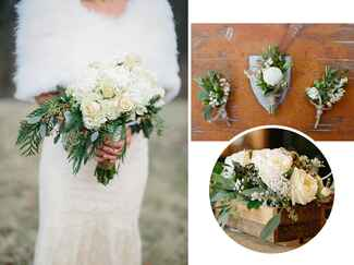Winter wedding flower trends