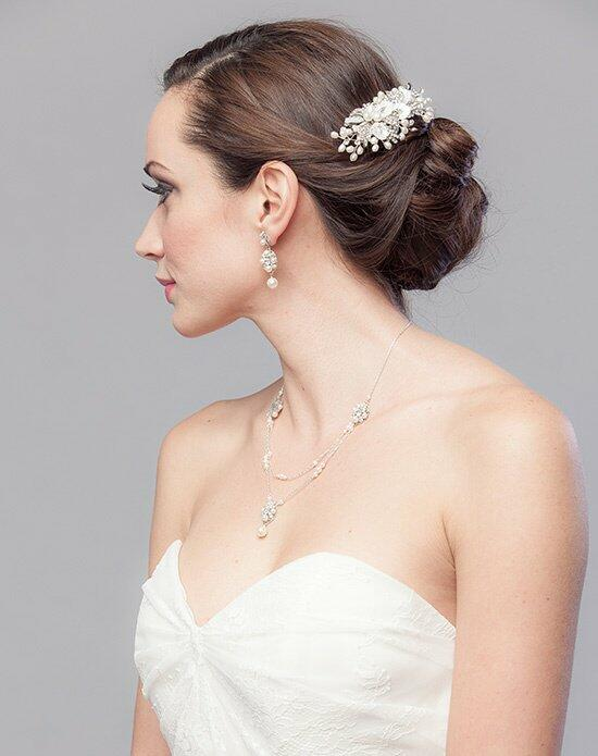 Laura Jayne Alivia Petal Hair Comb Wedding Headbands photo