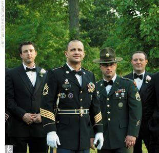 1st parachute wedding