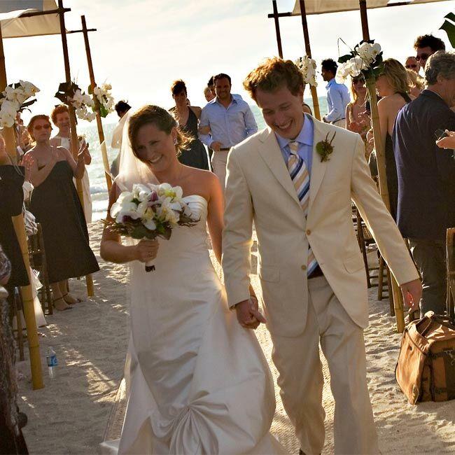 Leslie & Dave: A Beach Wedding In Captiva Island, FL
