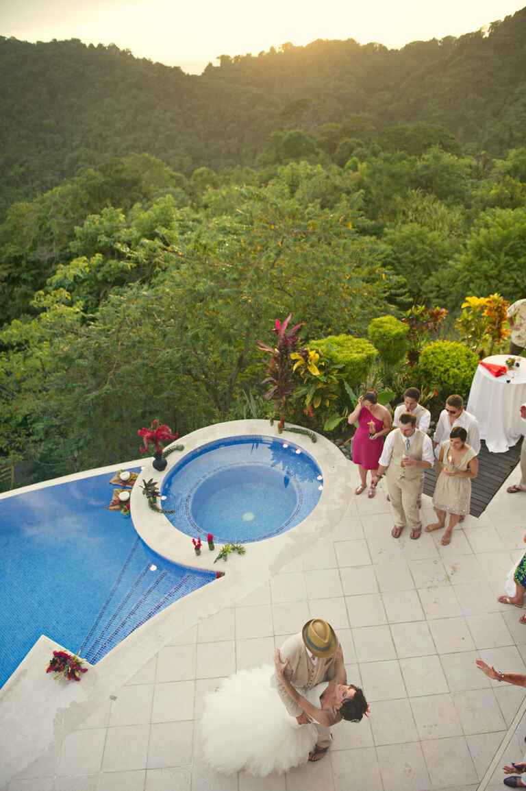 Costa Rica wedding reception by A Jubilee Event