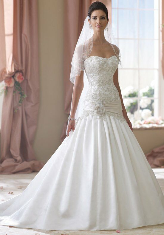 David Tutera for Mon Cheri 114288 Wedding Dress photo