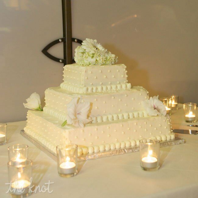 Three-Layer Buttercream Wedding Cake