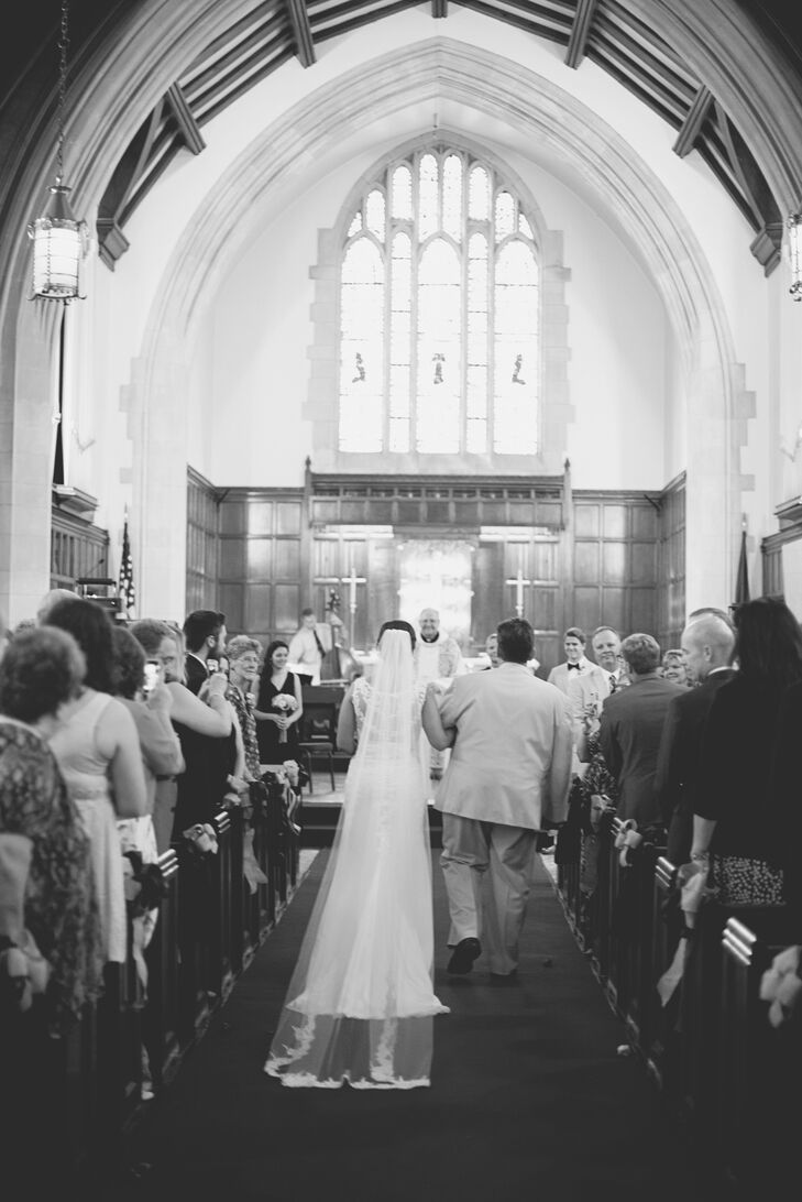 An Aviation-Themed Wedding at Langley Air Force Base Chapel in ...