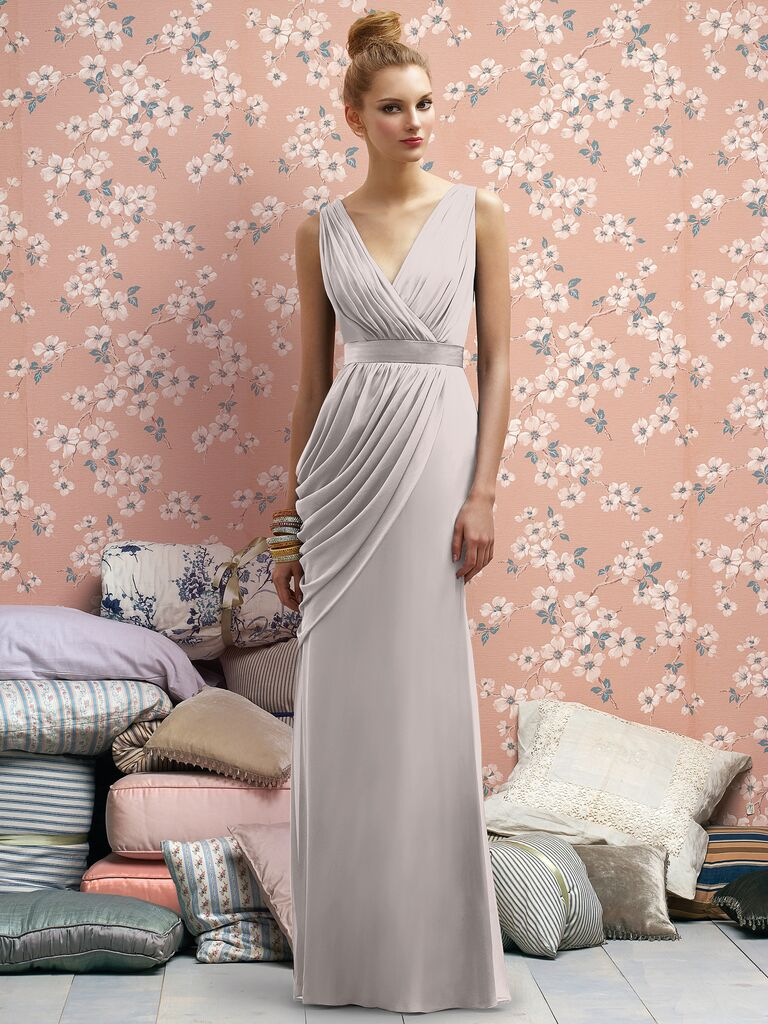 Dessy is offering an exclusive coupon code for knotties deep v neck bridesmaid dress ombrellifo Gallery