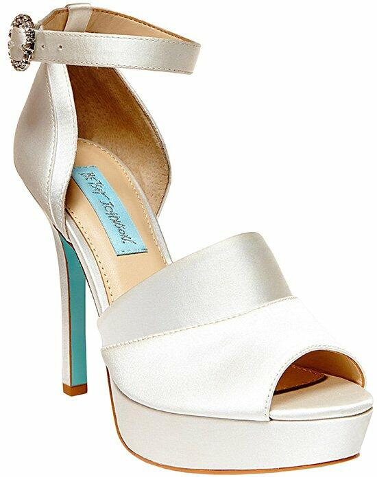 Blue by Betsey Johnson SB - SILK-Ivory Wedding Shoes photo